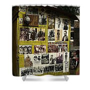 Photos Mexican Revolution Street Photographer's Shed Nogales Sonora Mexico 2003 Shower Curtain