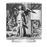 Physician As Angel Shower Curtain