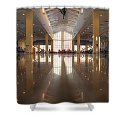 Piarco Airport Trinidad Shower Curtain