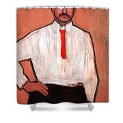 Picasso's Pedro Manach Shower Curtain