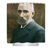 Pierre Curie (1859-1906) Shower Curtain