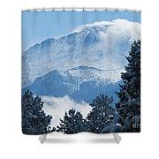 Pikes Peak Colorado Shower Curtain
