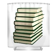 Pile Of Books Shower Curtain