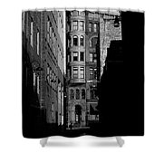 Pioneer Square Alleyway Shower Curtain