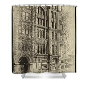 Pioneer Square In Seattle Shower Curtain