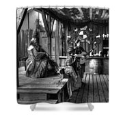 Pirates Of The Caribbean V8 Shower Curtain
