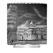 Pisa - The Leaning Tower Shower Curtain