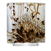 Play Brush And Ink 2 Shower Curtain