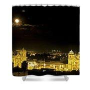 Plaza De Armas Cuzco Peru Shower Curtain