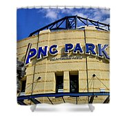 Pnc Park Baseball Stadium Pittsburgh Pennsylvania Shower Curtain