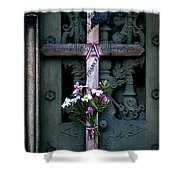 The French Cross Shower Curtain