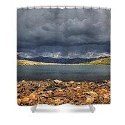Pomeroy Lake Shower Curtain