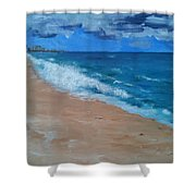 Pompano Beach Shower Curtain