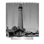 Ponce De Leon Lighthouse Shower Curtain