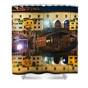 Ponte Vecchio - Florence Shower Curtain