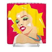 Pop Art  Shower Curtain