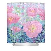 Poppy Garden Shower Curtain