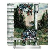 Porch Pots Shower Curtain