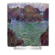 Port-goulphar Shower Curtain