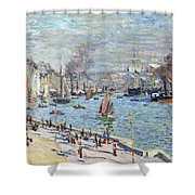 Port Of Le Havre Shower Curtain