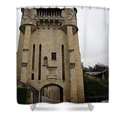 Porte Du Croux Nevers  Shower Curtain