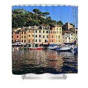 Portofino - Italy Shower Curtain
