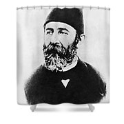 Portrait Of Djemal Pasha Shower Curtain