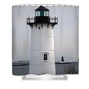 Portsmouth Harbor Light Shower Curtain