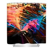 Poured Out Praise Shower Curtain