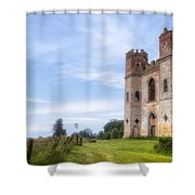 Powderham Castle Shower Curtain