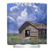 Prairie Church Shower Curtain by Jerry McElroy