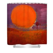 Prairie Winds Shower Curtain by Keith Thue