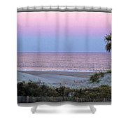 Predawn Shower Curtain