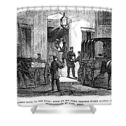 Presidential Election, 1864 Shower Curtain