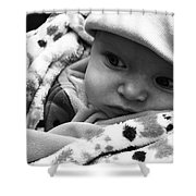 Presious Baby Shower Curtain