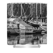 Presque Isle Marina 2013 Shower Curtain
