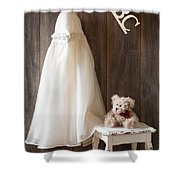 Pretty Dress Shower Curtain