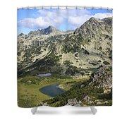 Prevalski And Valyavishki Lakes Pirin National Park Bulgaria  Shower Curtain