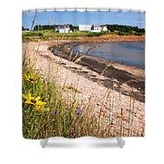 Prince Edward Island Coastline Shower Curtain by Elena Elisseeva