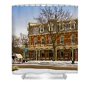 Prince Of Wales Hotel In Niagara On The Lake Shower Curtain