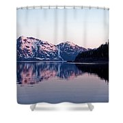 Prince William Sound Reflections Shower Curtain