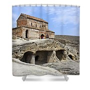 Prince's Church In Uplistsikhe Gori Georgia  Shower Curtain by Robert Preston