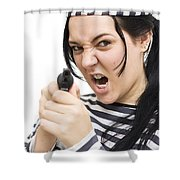 Prison Breakout Shower Curtain