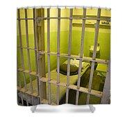 Prison Cell Alcatraz Island Shower Curtain