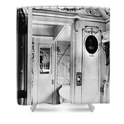 Pullman Car Loretto Shower Curtain