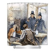 Puritan Tavern Inspection Shower Curtain