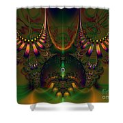 Quantum Dot Shower Curtain by Peter R Nicholls