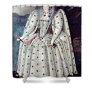 Queen Elizabeth I (1533-1603) Shower Curtain