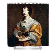 Queen Henrietta Maria Shower Curtain