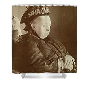 Queen Victoria Of England Shower Curtain